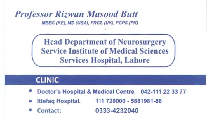 Dr.Rizwan Masood Butt